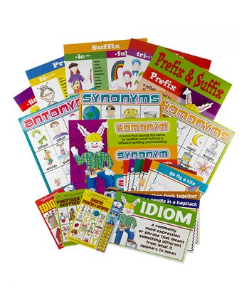 Grammar Book & Chart Set 1