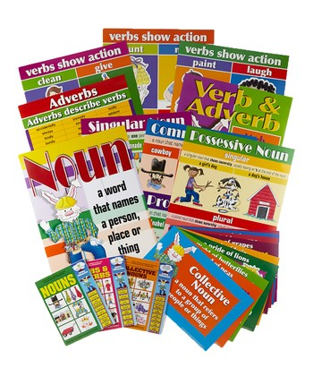 Grammar Book & Chart Set 2