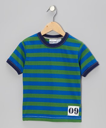 Kelly Stripe '09' Tee - Toddler & Boys
