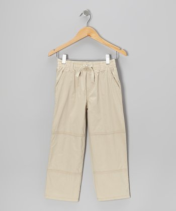 Khaki Utility Pants - Toddler & Boys
