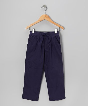 Navy Utility Pants - Toddler & Boys