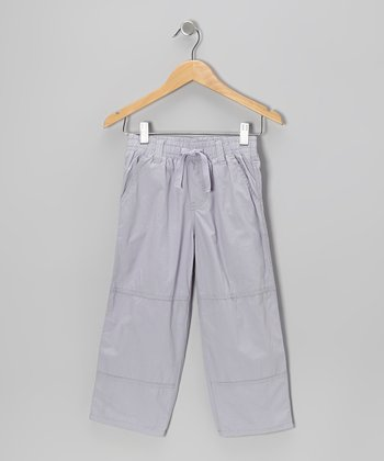 Pewter Utility Pants - Toddler & Boys