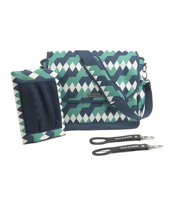 Emerald Lagoon Messenger Diaper Bag