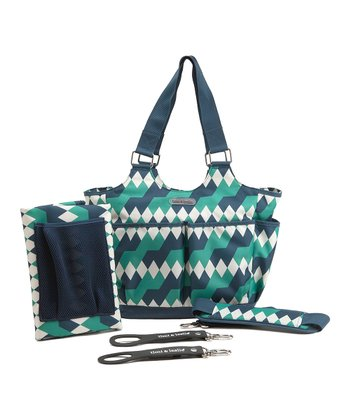 Emerald Lagoon Tag-A-Long Diaper Bag