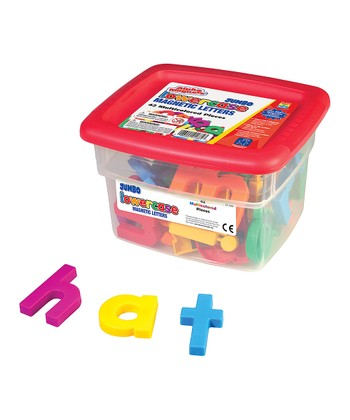 Jumbo Lowercase Alphabet Magnet Set