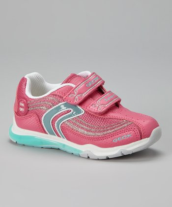 Fuchsia & Blue Jr Magica Light-Up Sneaker
