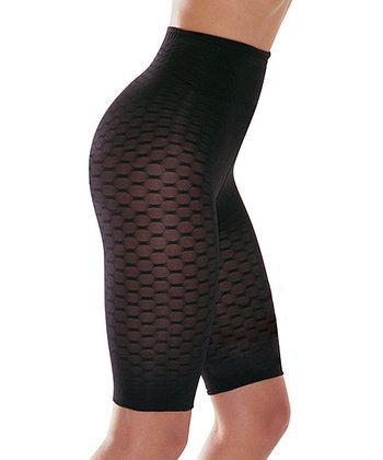 Franzoni Black Massage Shaper Shorts  - Women