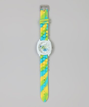 Green & Blue Turtle Watch