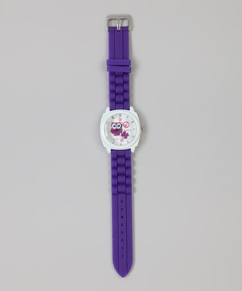 Purple Owl Watch