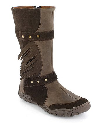 Chocolate Kayley Boot