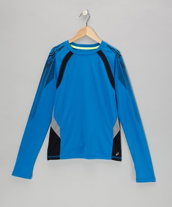 Electric Long-Sleeve Track Top - Boys
