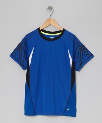 Blue Practice Top - Boys
