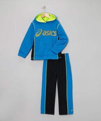 Electric Heritage Hoodie & Black Track Pants - Boys