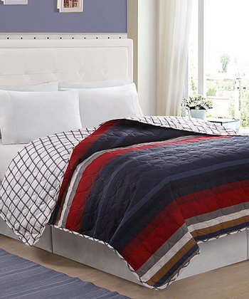 Blue Hampton Quilt Set
