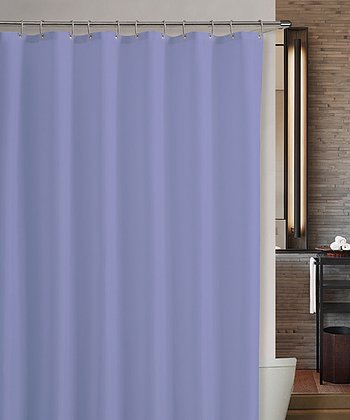 Plum Marcy Shower Curtain