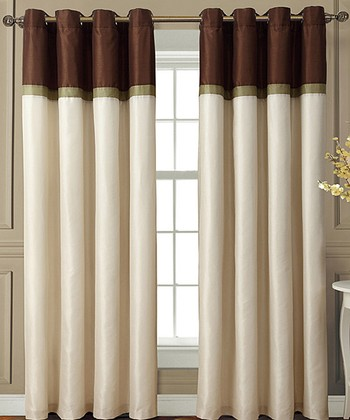 Chocolate Westin Curtain Panel