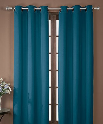 Sapphire Neil Blackout Curtain Panel