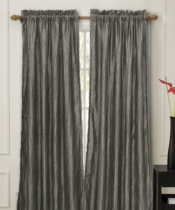 Gray Nathan Curtain Panel