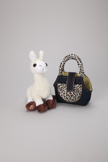 Llama Plush Toy & Carrier