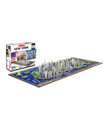4D Cityscape New York History Time Puzzle