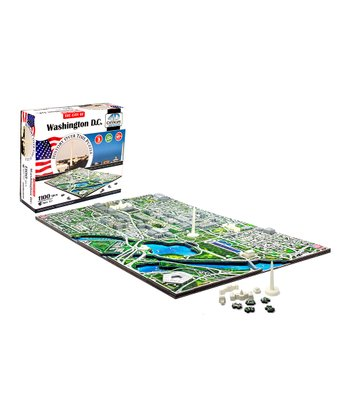4D Cityscape Washington DC Glow-in-Dark Puzzle