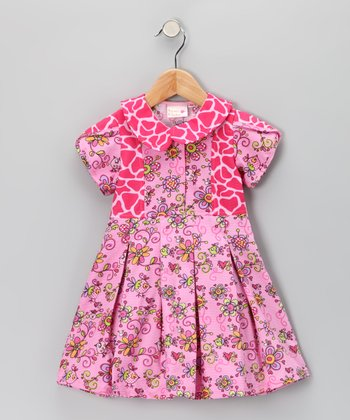 Pink Janea's World Yanea Dress - Toddler & Girls