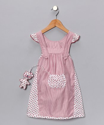 4EverPrincess Pink Polka Dot Pip Jumper - Toddler & Girls