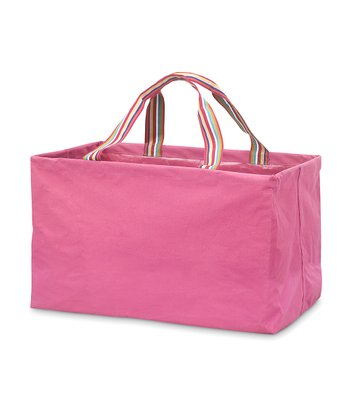 Pink Chesapeake Rectangle Crunch Shopper