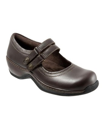 Dark Brown Leather Abilene Mary Jane