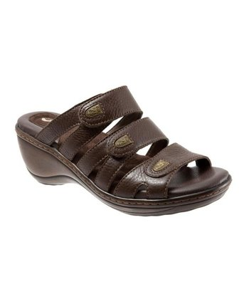 Dark Brown Macon Sandal