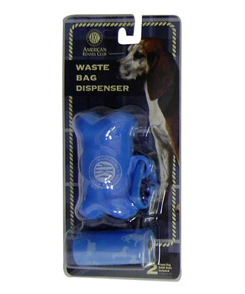 Blue Bone Waste Bag Dispenser Set