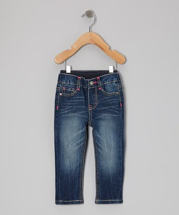 Cloudy Night Sure2Fit True Straight-Leg Jeans - Infant & Toddler