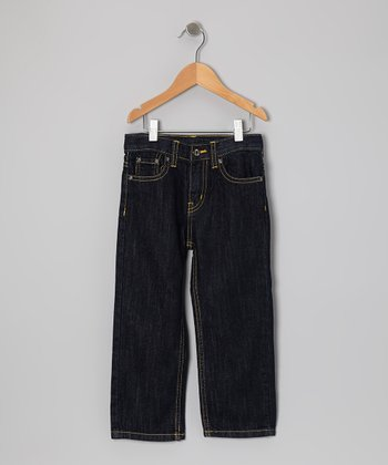 Rinse Blue Slim Straight-Leg Jeans - Toddler
