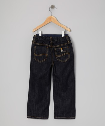 Rinse Blue Relaxed Straight-Leg Jeans - Infant & Toddler