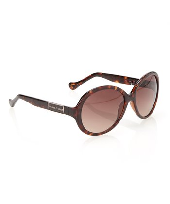 Tortoise & Brown Lens Round Sunglasses