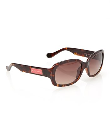 Tortoise Rounded Rectangle Sunglasses