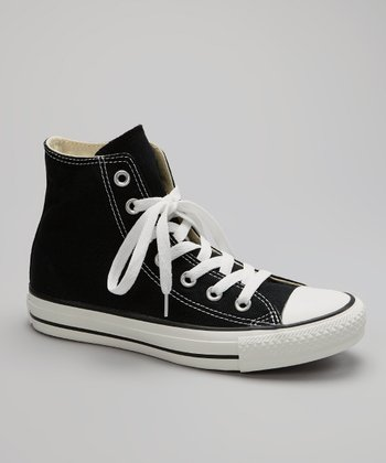 Black & White Hi-Top Sneaker - Women & Men
