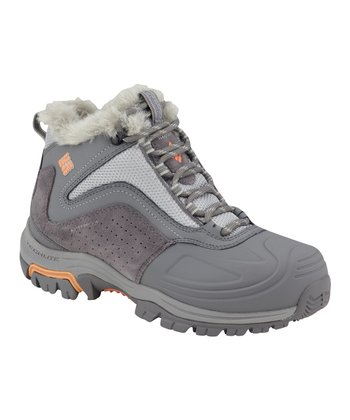Light Gray & Bright Peach Silcox Six All-Terrain Shoe - Women