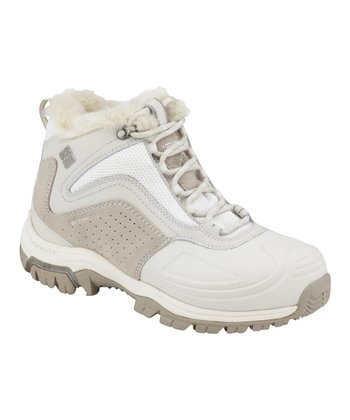 Winter White & Silver Sage Silcox Six All-Terrain Shoe - Women