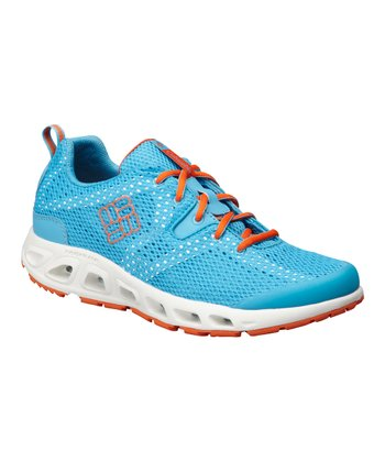 Blue & Orange Drainmaker II Running Shoe - Women