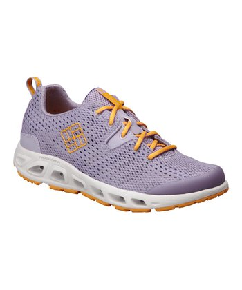 Lavender & Yellow Drainmaker II Running Shoe - Women