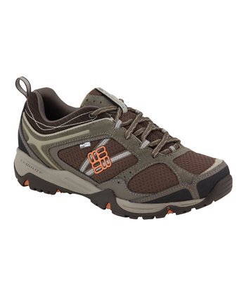 Brown & Gray Skyway OutDry Trail Running Shoe - Women
