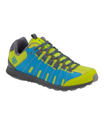 Green & Blue Master Fly Trail Running Shoe - Men