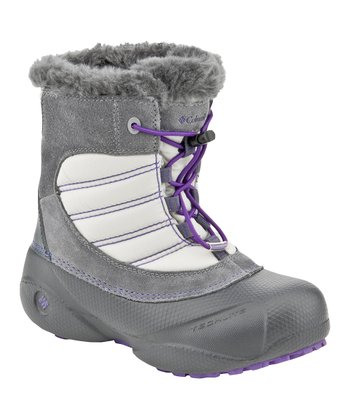 Charcoal & Royal Purple Rope Tow Boot- Kids