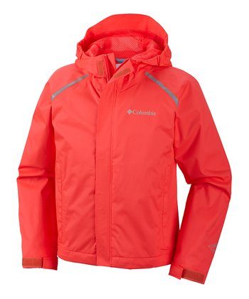 Laser Red ChromaTech Rain Jacket - Kids