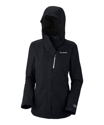 Black Bugaboo Tech Shell Raincoat - Women