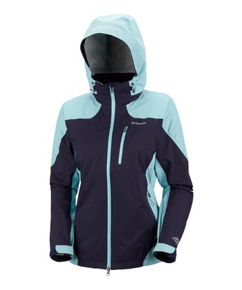 Ebony Blue Tech Attack Shell - Women