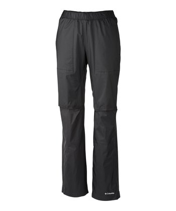 Black Zonation Shell Pants - Women