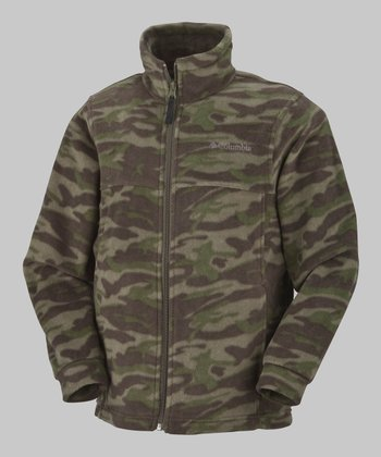 Camo Zing Fleece Jacket - Infant