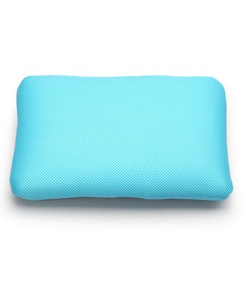Light Blue Classic Memory Foam Mini Travel Pillow